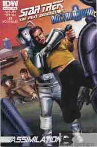 Today's Comic> Star Trek TNG/Doctor Who#3