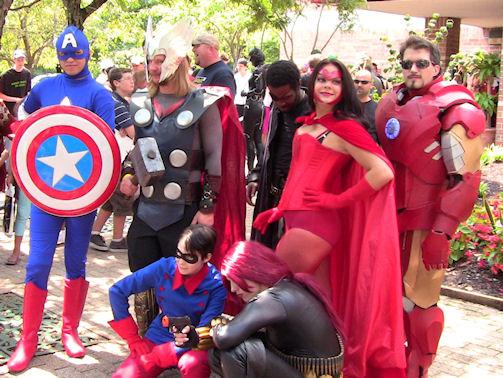 13 - Avengers assembled