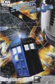 Today's Comic> Star Trek: TNG/Doctor Who#7