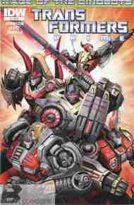 Today's Comic> Transformers Prime: Rage of the Dinobots #1