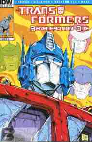 Today's Comic> Transformers: Regeneration One #86
