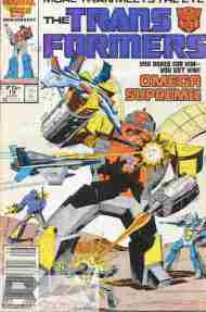 """Yesterday's"" Comic> The Transformers #19"