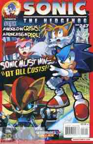 Today's Comic> Sonic The Hedgehog #247