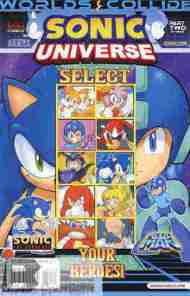 Today's Comic> Sonic Universe #51 (Sonic/Mega Man crossover part2)