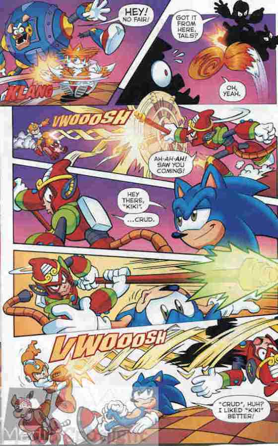 Honorable mention goes to Tails patting Sonic on the head.