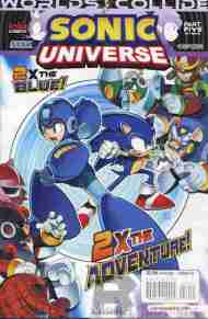 Today's Comic> Sonic Universe #52 (Sonic/Mega Man crossover part 5)
