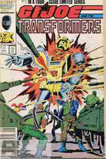 GI Joe & The Transformers #1