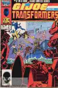 GI Joe & The Transformers #2