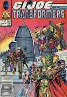 GI Joe & The Transformers #4