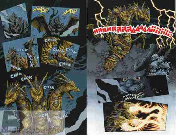 """That's a cool transformation. Even Godzilla's going """"oh #$#$""""."""