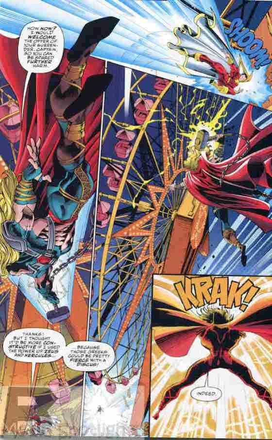 Sure, invoke Hercules. That won't rile Thor up.