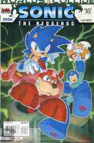 Today's Comic> Sonic The Hedgehog #249 (Sonic/Mega Man Crossover part6)