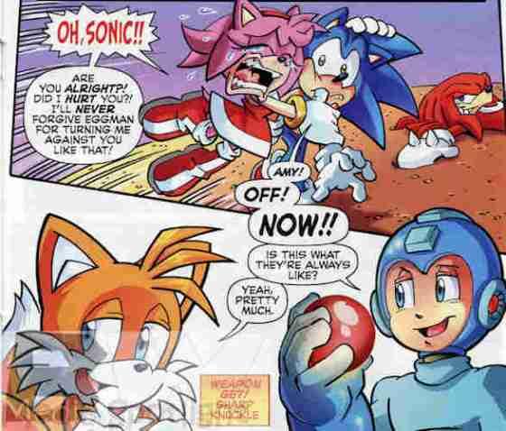 Sonic Universe #53 Best Scene