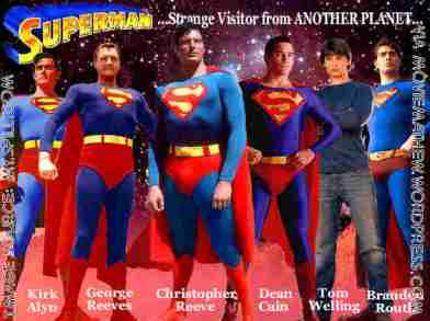 Superman of many media