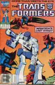 """Yesterday's"" Comic> The Transformers #25"