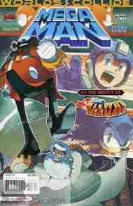 Tonight's Comic> Mega Man #27 (Mega Man/Sonic Crossover part10)
