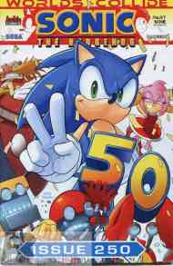 Today's Comic> Sonic The Hedgehog #250 (Sonic/Mega Man crossover part9