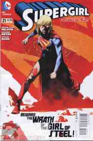 Today's Comic> Supergirl#21