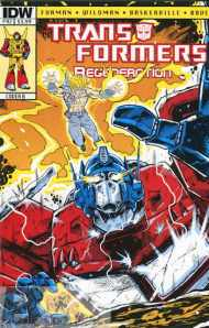 Today's Comic> Transformers: Regeneration One #92