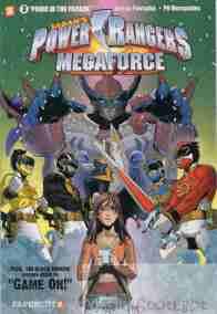 Power Rangers Megaforce #3