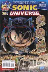 Today's Comic> Sonic Universe#55