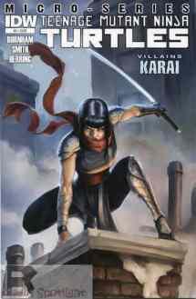 TMNT Micro-Series Villains Karai