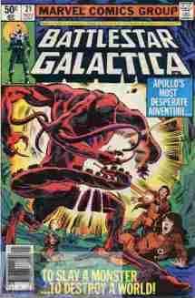 Battlestar Galactica #21