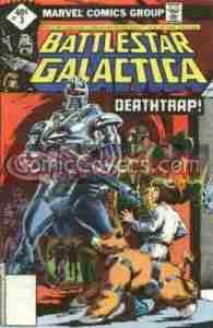 Battlestar Galactica #3 (Marvel)