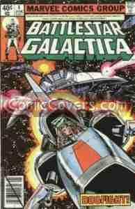 Battlestar Galactica #4 (Marvel)