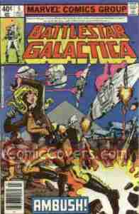 Battlestar Galactica #5 (Marvel)