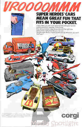 Corgi cars