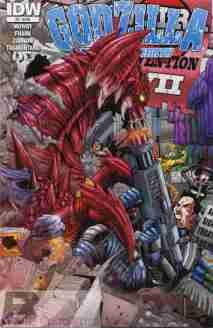 Godzillal Rulers Of Earth #3