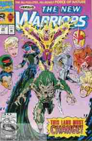 """""""Yesterday's"""" Comic> New Warriors#29"""