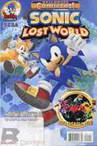 Today's Halloween ComicFest> Sonic: Lost World