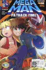 Today's Comic> Mega Man#32