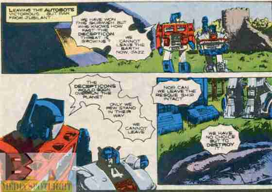 Transformers #33 & 34 pointless