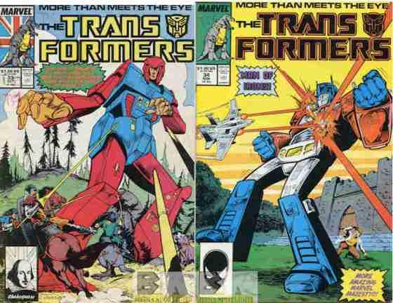 Transformers #33 & 34