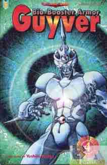Bio-Booster Armor Guyver Part 5 #4