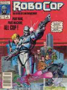 Robocop comic adaptation