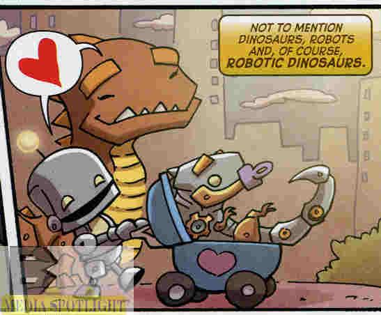 Today's Comic> Scribblenauts Unmasked #3 | BW Media Spotlight
