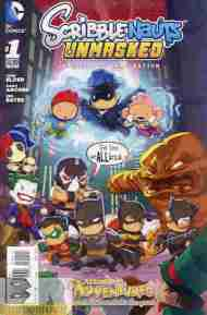 Today's Comic> Scribblenauts Unmasked#1