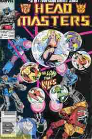 """Yesterday's"" Comic> Transformers: Headmasters #3"