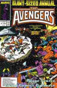 """Yesterday's"" Comic> Avengers Annual #16"