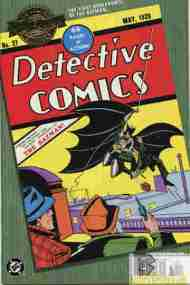"""Yesterday's"" Comic> Detective Comics #27"