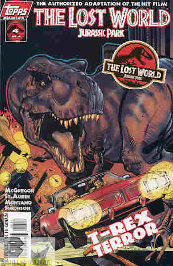 """Yesterday's"""" Comic> The Lost World: Jurassic Park #4 
