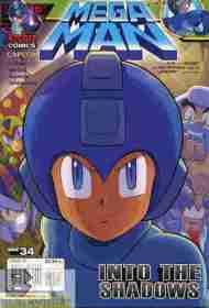 Today's Comic> Mega Man#34