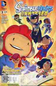 Today's Comic> Scribblenauts Unmasked #3