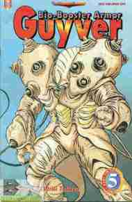 """Yesterday's"" Comic> Bio-Booster Armor Guyver part 6 #5"