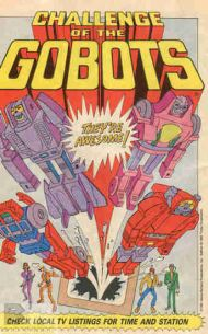 BW Morning Article Link: GoBots Finally Gets AComic