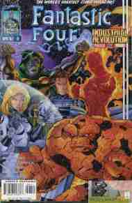 """Yesterday's"" Comic> Fantastic Four #6 (Heroes Reborn)"